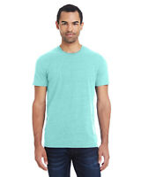 Marky G Apparel 102A Adult Unisex Tribend Short Sleeve T-Shirt, Mint, Medium