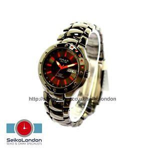 Omax Gents Divers Style 50M Day/Date Seiko Movt RRP £79.99 CLEARANCE!!!