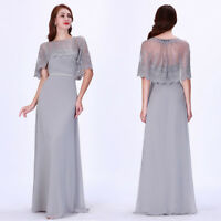Ever-Pretty Long Formal Evening Dress Lace Mother Of The Bride Prom Gown 07612