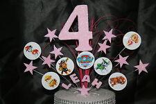 0009 PAW PATROL MR TUMBLE BIRTHDAY CAKE TOPPER DECORATION STAR BURS CAKE SPRAY