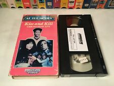 * Kiss And Kill aka Blood Of Fu Manchu Kung Fu Horror VHS 1968 Christopher Lee