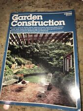Garden Construction Magazine Ortho Books 1985 Landscaping Ideas Guc