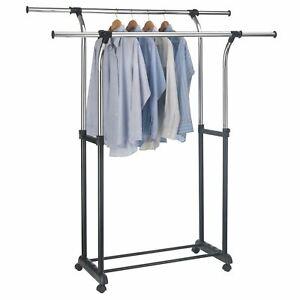 Kleiderständer Kleiderhalter Kleiderstange Garderobenständer ohne Bohren SGR0074