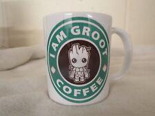 Je suis Groot Café Starbucks Parodie Mug Comic Funny 11 Oz (environ 311.84 g) Mug Céramique Anniversaire