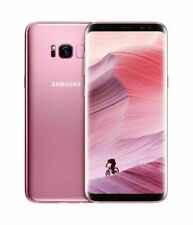 SAMSUNG GALAXY S8 Rose Pink 4G LTE 64GB UNLOCKED SIM FREE ANDROID SMARTPHONE