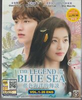 Korean Drama DVD The Legend Of The Blue Sea (2017) English Subtitle Free Ship