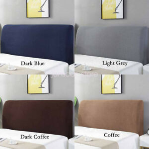 Comfortable Headboard Slipcover Dustproof Protector Cover for Bedroom Decor
