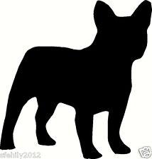 french bulldog , Car, van Sticker, silhouette. Great Gift For Dog Lover,