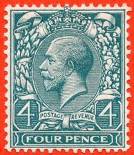 """SG. N23 """" COLOUR TRIAL """".4d bluish grey green. A super UNMOUNTED MINT example."""