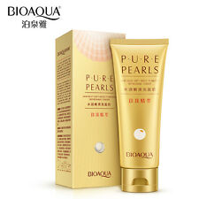 NEW Pure Pearls Extract Essence Facial Cleanser Rich Foaming Oil Facial Cleanser