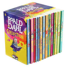 Roald Dahl Collection: 15 Book Box Set * New * Free Shipping!!!!!