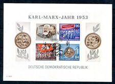 DDR 1953 BLOCK9BYII gestempelt TADELLOS geprüft BPP 180€(K7413