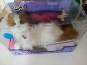 FurReal Friends Interactive Electronic Pet Cat - Lulu - Hasbro 2009 be boxed