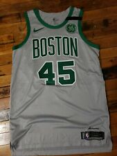 Kadeem Allen Game Worn Boston Celtics Gray City Edition Jersey Nike Size 50