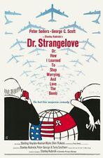 "Dr. Strangelove Movie Poster Mini 11""X17"""