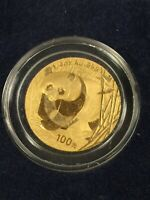 2001 1/4OZ GOLD PANDA COIN