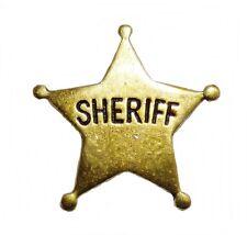 Ele pin sheriff estrella sheriff Western country salvaje oeste