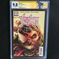 VENOM #7 (2018) 💥 SIGNED by TODD MCFARLANE 💥 CGC SS 9.8 SECRET TONGUE VARIANT