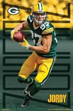 JORDY NELSON Green Bay Packers Wide Receiver NFL Action WALL POSTER