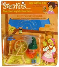 Vintage 1967 Hasbro Storykins Brothers Grimm Rumplestiltskin Mint Sealed MOC