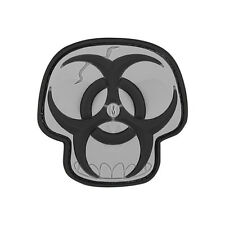 "NEW Maxpedition Biohazard ""Skull"" - Swat - 3D Velcro-backed Morale Patch"
