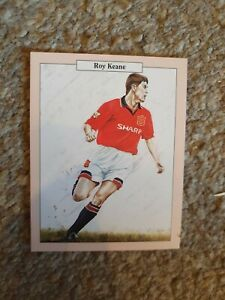 Manchester United (Rob Roy Cards) No 12 Roy Keane