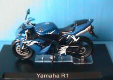 MOTO BIKE YAMAHA YZF R1 1/24 NEW ROADSTER BLUE BLEU NEW BLAU IXO ALTAYA