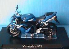 MOTO BIKE YAMAHA YZF R1 1/24 NEW ROADSTER BLUE BLEU NEW BLAU IXO ALTAYA