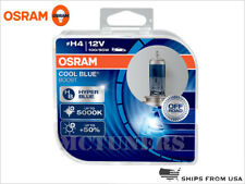 NEW OSRAM H4 9003 HB2 5000K COOL BLUE BOOST BULBS 62193CBB-HCB 12V | PACK OF 2