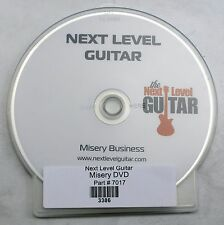 Next Level Guitar DVD Lesson Misery Business by Paramore New
