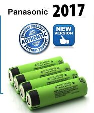 4 x Genuine Panasonic  NCR18650B 18650 3400mAh Rechargeable Battery  Li-ion UK
