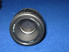 Cámara SLR Nikon AF Nikkor 50mm 1:1 .8 D primer lente Nikon DSLR Lente