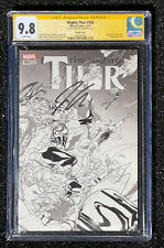 CGC 9.8 SS Jason Aaron The Mighty Thor #700 Sketch Cover 1:100 Variant Dauterman