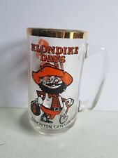 Edmonton Albert Glass Beer Mug Cup Klondike Days Vintage