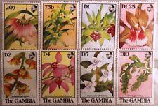 GAMBIA 1989 955-62 Orchideen Orchids Blumen Flowers Flora Pflanzen Plants MNH