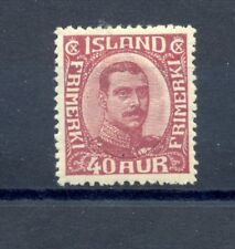 Iceland Mi# 94 -* Mh -Luxe