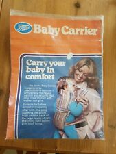 Vintage Boots Baby Carrier New