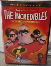 The Incredibles (Dvd, 2 Disc Collectors Set Widescreen) Rare Disney Brand New
