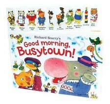 Richard Scarry's Good Morning, Busytown! by Richard Scarry (Board book, 2015)