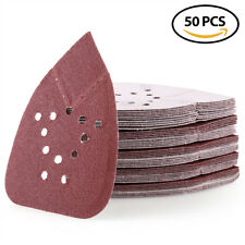 80 Grit Sanding Disc Sheets Sandpaper Mouse Detail Palm Orbital Sander Paper