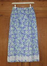 Lilly Pulitzer Skirt, Lady Bugs/Floral Design, 100% Cotton, Sz 4, EUC