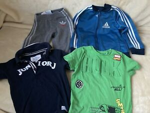 Toddler Clothes Bundle (18-24 Months) Inc. Adidas And Junior J (4 Items)
