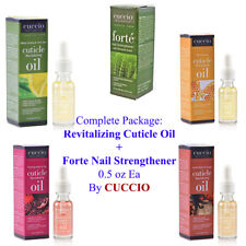 CUCCIO NailCare Cuticle Revital. OIL+Forte STRENGTHENER 0.5oz ->SEPARATELY SOLD<