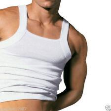 Camisetas de hombre azul sin mangas