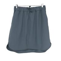 Lululemon Womens On The Fly Skirt Tennis Gray 10 Large L