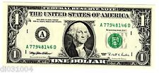 Stati UNITI AMERIQUE USA Banconota 1 $ Dollaro 1995 NUOVA UNC