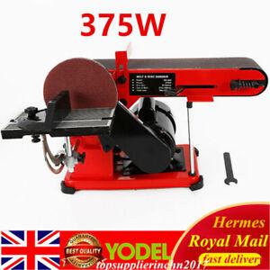375W Heavy Duty Bench Belt and Disc Sander Sanding UK