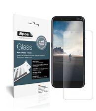 2x Nokia C2 Tava Protector de Pantalla Vidrio Flexible Mate Proteccion 9H dipos
