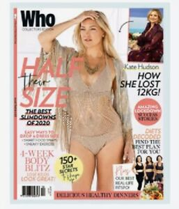 WHO Collector's Edition 2020 Summer: HALF THEIR SIZE Celebrity- Transformations