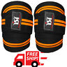 Gym Power Weight Lifting Knee Wraps Strength Training Guard Straps Pads Work out